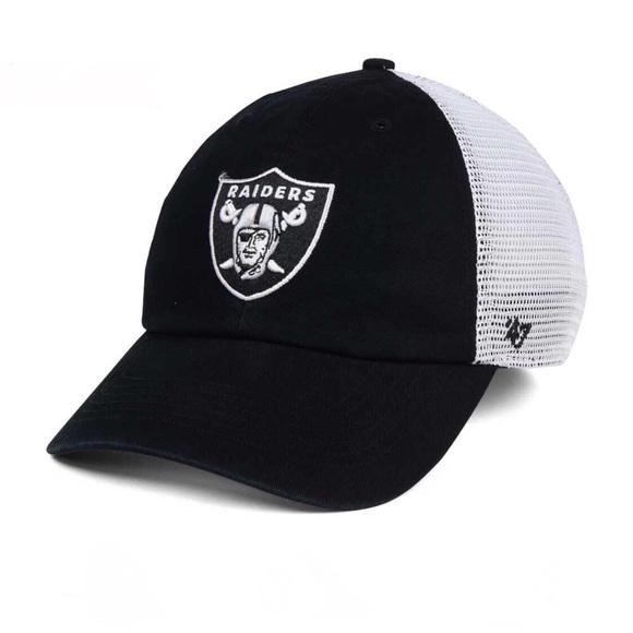 24250783715  47 Brand Oakland Raiders Mesh Closer Cap